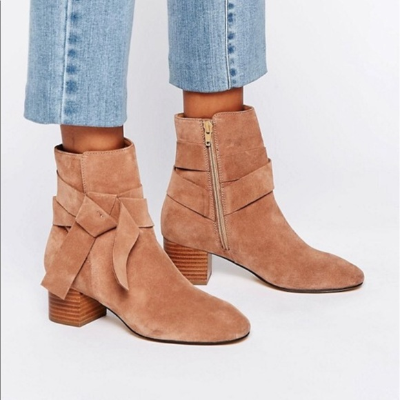 ASOS Shoes   Renzel Suede Ankle Boots